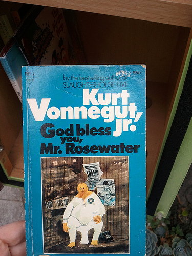God Bless You Mr. Rosewater by Kurt Vonnegut Jr.