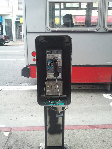 Payphone in San Francisco