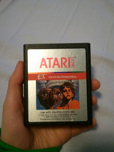 Atari 2600 ET Cartridge