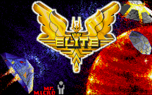 Elite 1 Title Screen